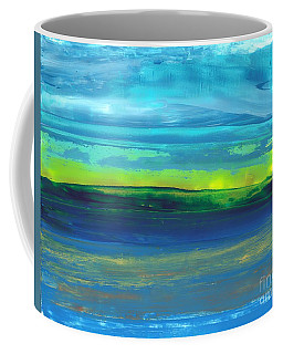 Riverbank Green Coffee Mug