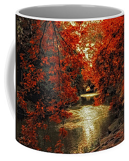 Riverbank Red Coffee Mug