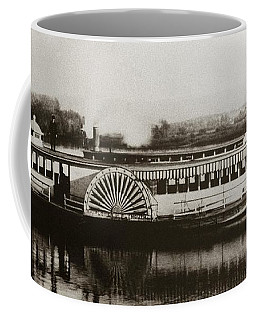 Riverboat  Mayflower Of Plymouth   Susquehanna River Near Wilkes Barre Pennsylvania Late 1800s Coffee Mug