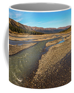 Rivers Of Denali National Park Coffee Mug by Brenda Jacobs