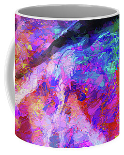 Coffee Mug featuring the digital art Rivers Of Love by Karo Evans
