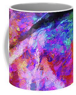 Rivers Of Love Coffee Mug by Karo Evans