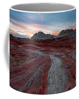 Coffee Mug featuring the photograph Rivers Of Red by Mike Dawson