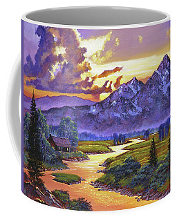 Riverside Cabin Coffee Mug