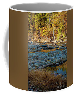 Coffee Mug featuring the photograph Riverside by Iris Greenwell