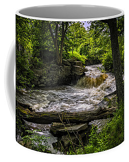 Coffee Mug featuring the photograph Riverside by Mark Myhaver
