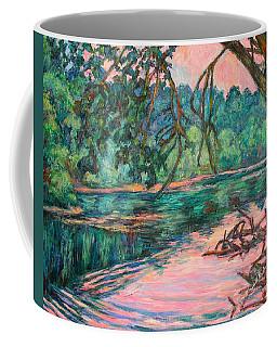 Riverview At Dusk Coffee Mug