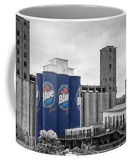 Riverworks Blue Coffee Mug