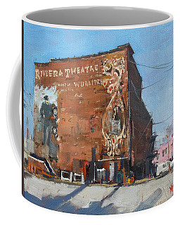 Riviera Theatre Historic Place In North Tonawanda Coffee Mug