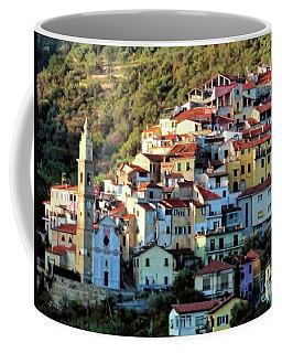 Riviera Village Coffee Mug by Jennie Breeze