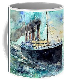 Rms Titanic White Star Line Ship Coffee Mug