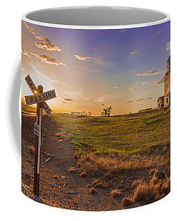 End Of The Day On The Montana Hi Line Coffee Mug by Jack Bell