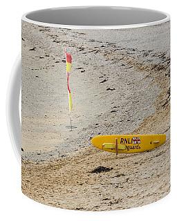 Rnli Rescue Surf Board Coffee Mug