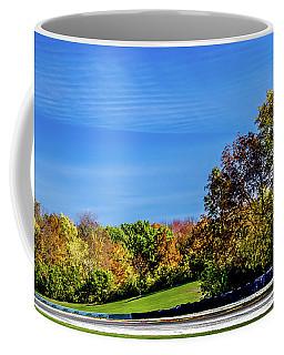 Road America In The Fall Coffee Mug