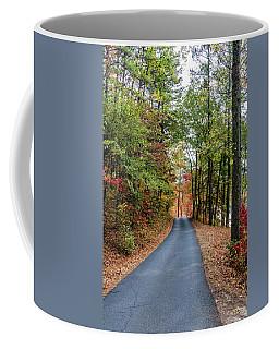 Road In The Woods Coffee Mug