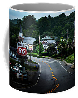 Coffee Mug featuring the photograph Road Through Town by Greg Mimbs