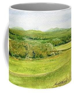 Road Through Vermont Field Coffee Mug