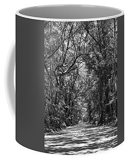 Road To Angel Oak Grayscale Coffee Mug