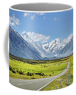 Road To Aoraki Coffee Mug