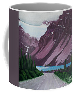 Road To Banff Coffee Mug