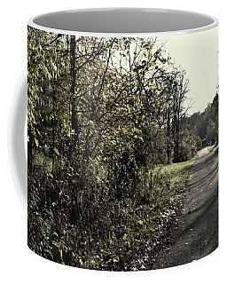 Road To Covered Bridge Coffee Mug