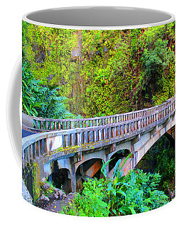 Road To Hana Bridge Coffee Mug