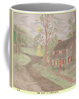 Road To Happiness Coffee Mug