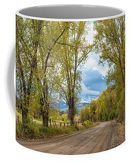 Road To Mears Peak Coffee Mug
