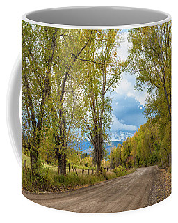 Road To Mears Peak Coffee Mug