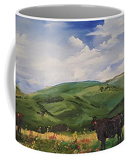 Road To Melrose, Montana         32 Coffee Mug
