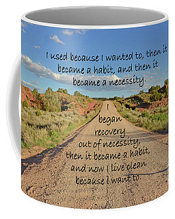 Road To Recovery Coffee Mug