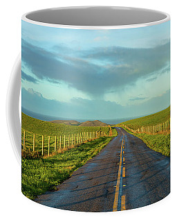 Road To The Pacific  Coffee Mug by Jonathan Nguyen