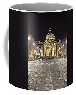 Road To The Vatican  Coffee Mug
