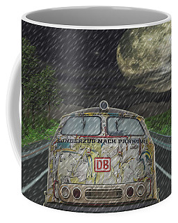 Road Trip In The Rain Coffee Mug
