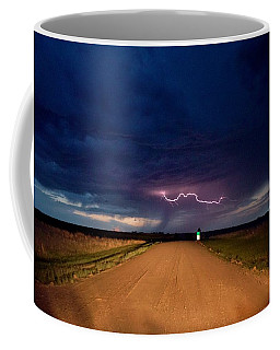 Road Under The Storm Coffee Mug