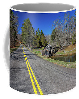Road View Of Mabry Mill Coffee Mug