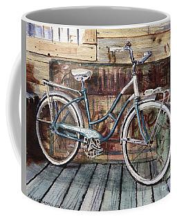 Roadmaster Bicycle Coffee Mug by Joey Agbayani