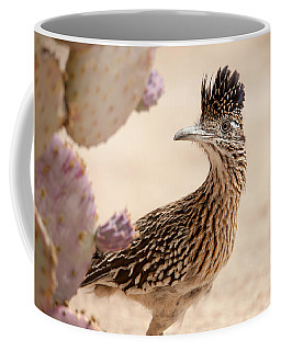 Coffee Mug featuring the photograph Roadrunner by Dan McManus