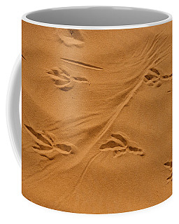 Roadrunner Tracks In The Sand Coffee Mug