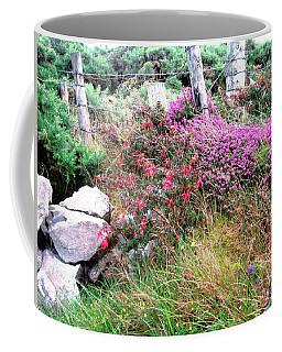 Coffee Mug featuring the photograph Roadside Flowers by Stephanie Moore