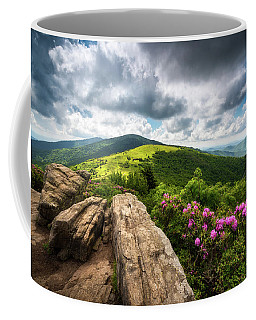 Roan Mountain Radiance Appalachian Trail Nc Tn Mountains Coffee Mug
