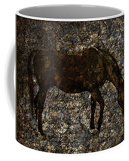 Roan Stallion Coffee Mug