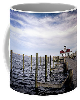 Roanoke Lighthouse - Manteo North Carolina Coffee Mug
