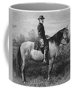 Robert E Lee On His Horse Traveler Coffee Mug