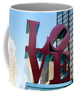 Robert Indiana Love Sculpture Coffee Mug