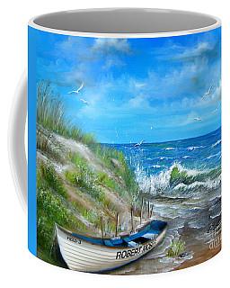 Robert Moses Beach Coffee Mug