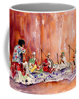 Robert Plant And Jimmy Page In Morocco Coffee Mug