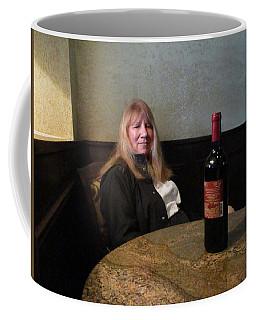 Robin At The Cafe Coffee Mug