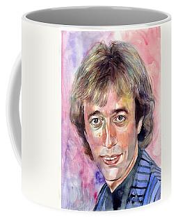 Robin Gibb Portrait Watercolor Coffee Mug