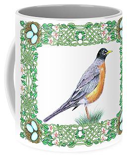 Robin In Spring Coffee Mug